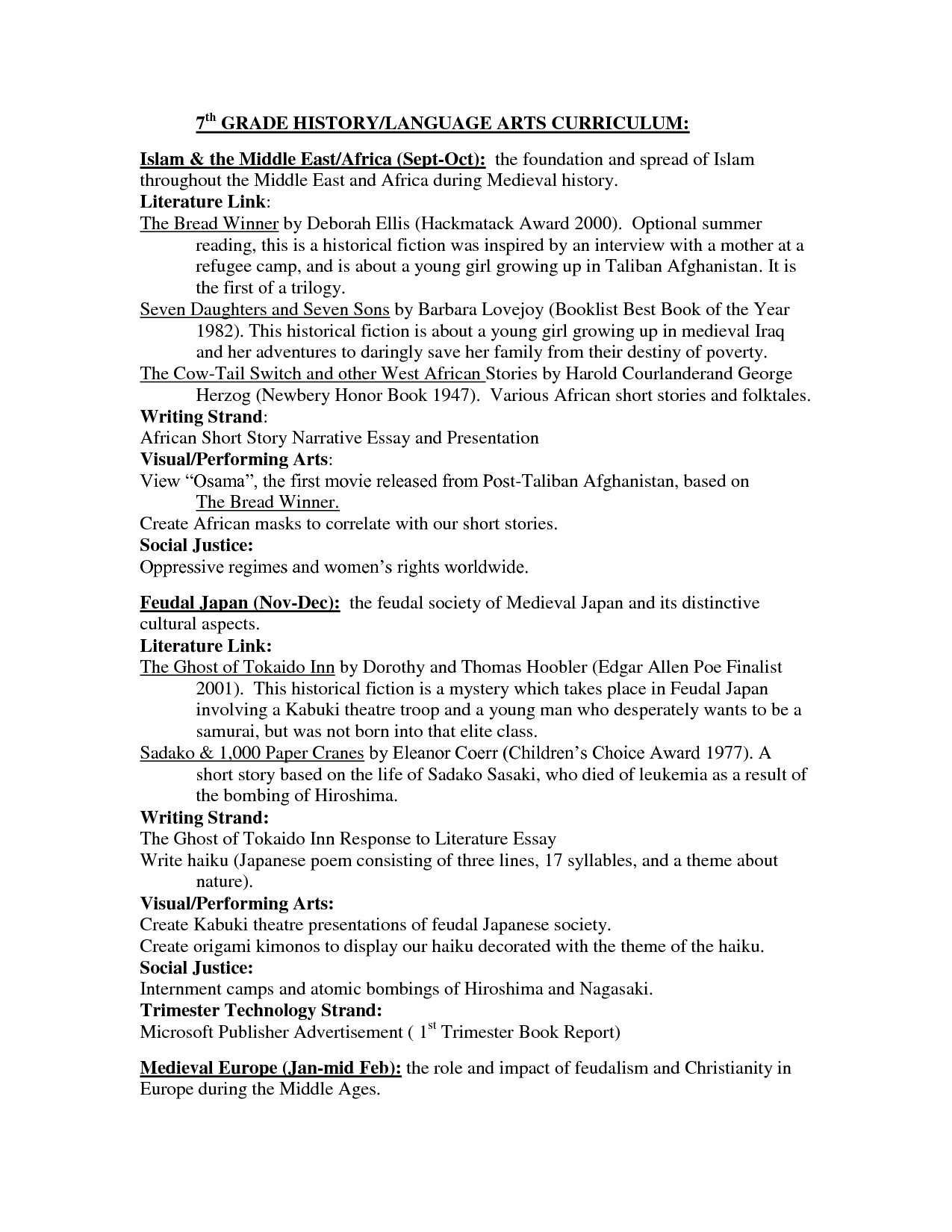Common Core 7th Grade English Worksheets