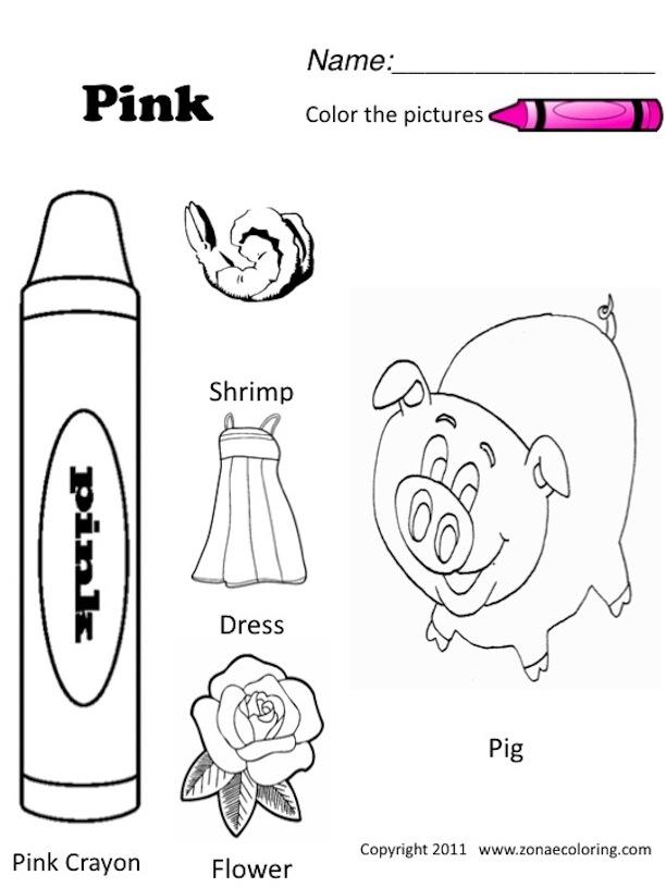 12 Best Images of ESL Kindergarten Worksheets Colors