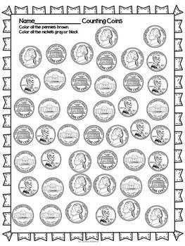 16 Best Images of Identifying Coins Worksheets For