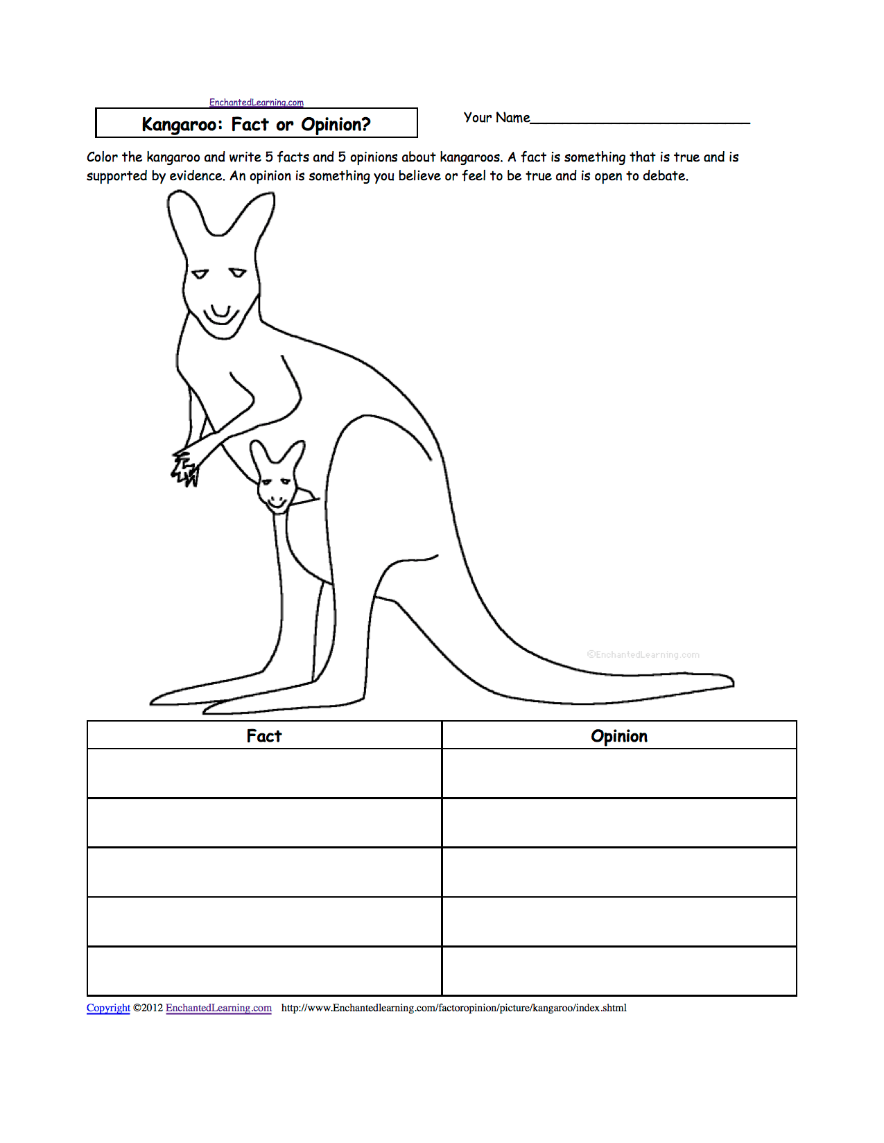 12 Best Images Of Fact And Opinion Printable Worksheets