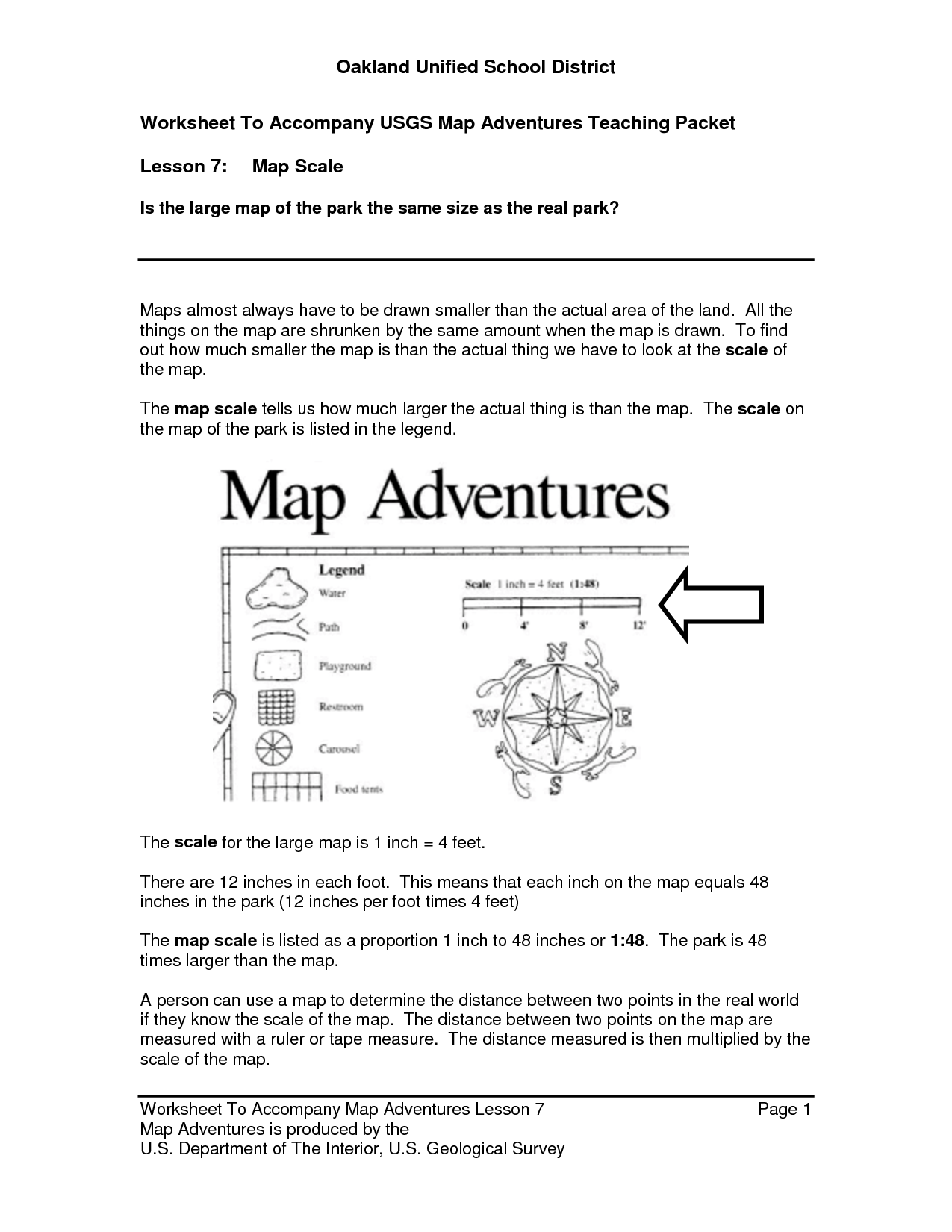 Cozy 13 Best Images Of Math Map Scale Worksheets Map Scale
