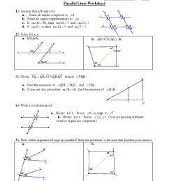 Parallel lines worksheet pdf [ 1650 x 1275 Pixel ]