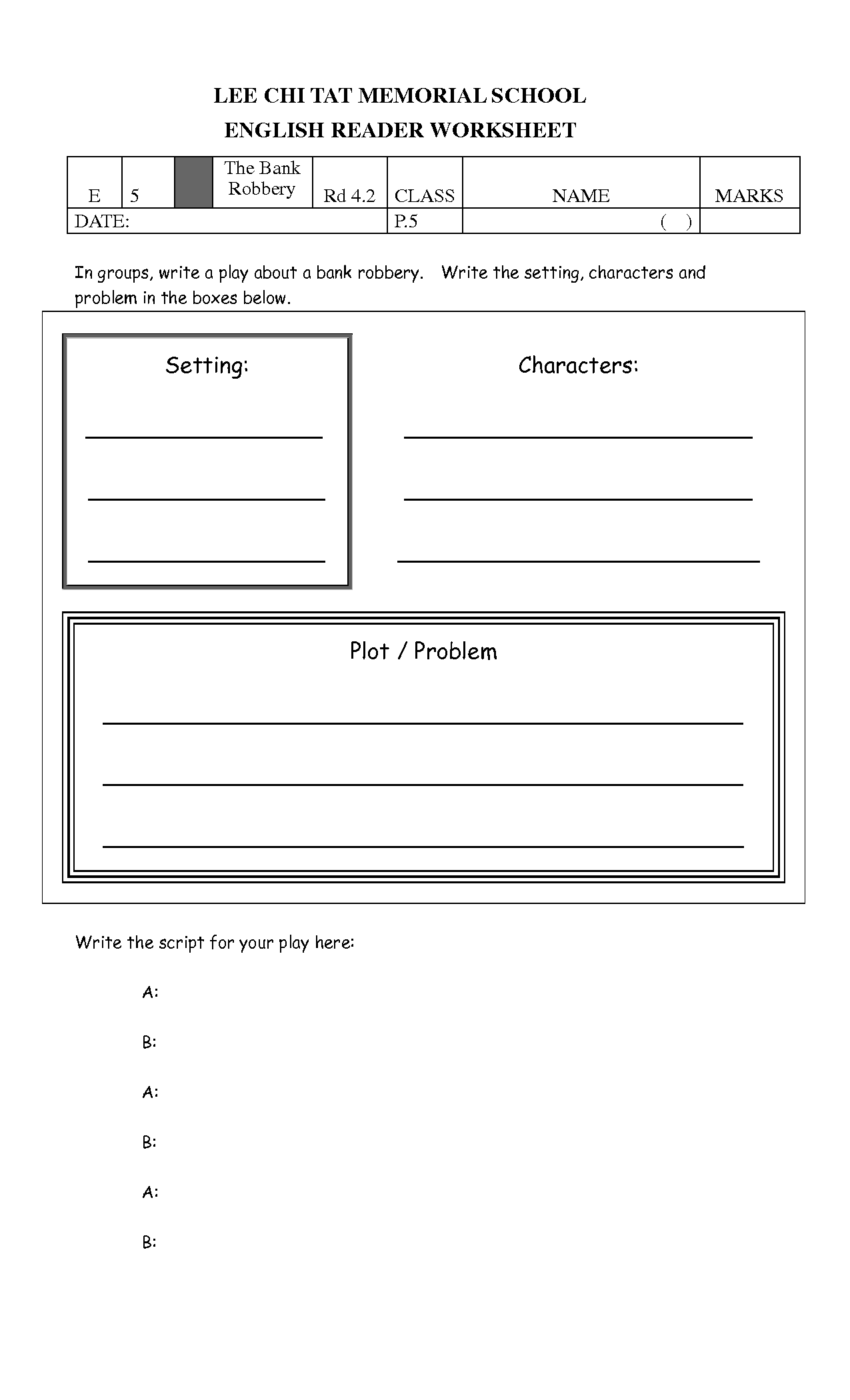 Dot Plot Worksheet Free