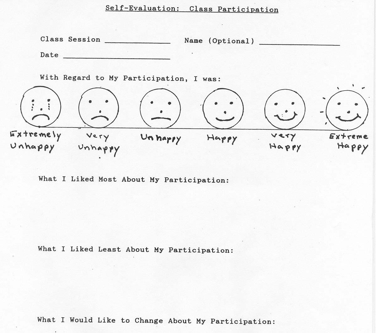 8 Best Images Of Behavior Worksheets For Elementary