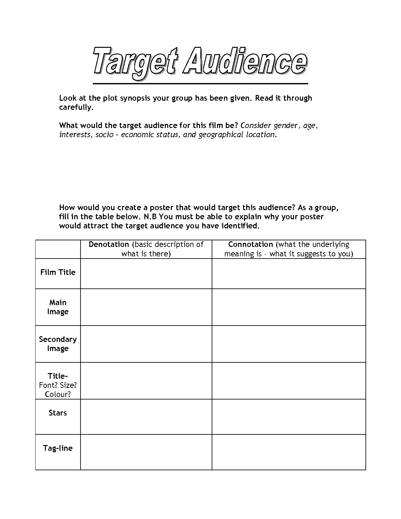 16 Best Images Of Identifying Plot Worksheets