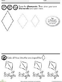 7 Best Images of Worksheets For Preschoolers Color Purple