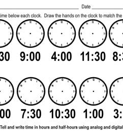 Elapsed Time Worksheets Easy   Printable Worksheets and Activities for  Teachers [ 816 x 1056 Pixel ]