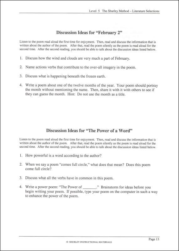 19 Best Images of Shurley English Worksheets Grade 5