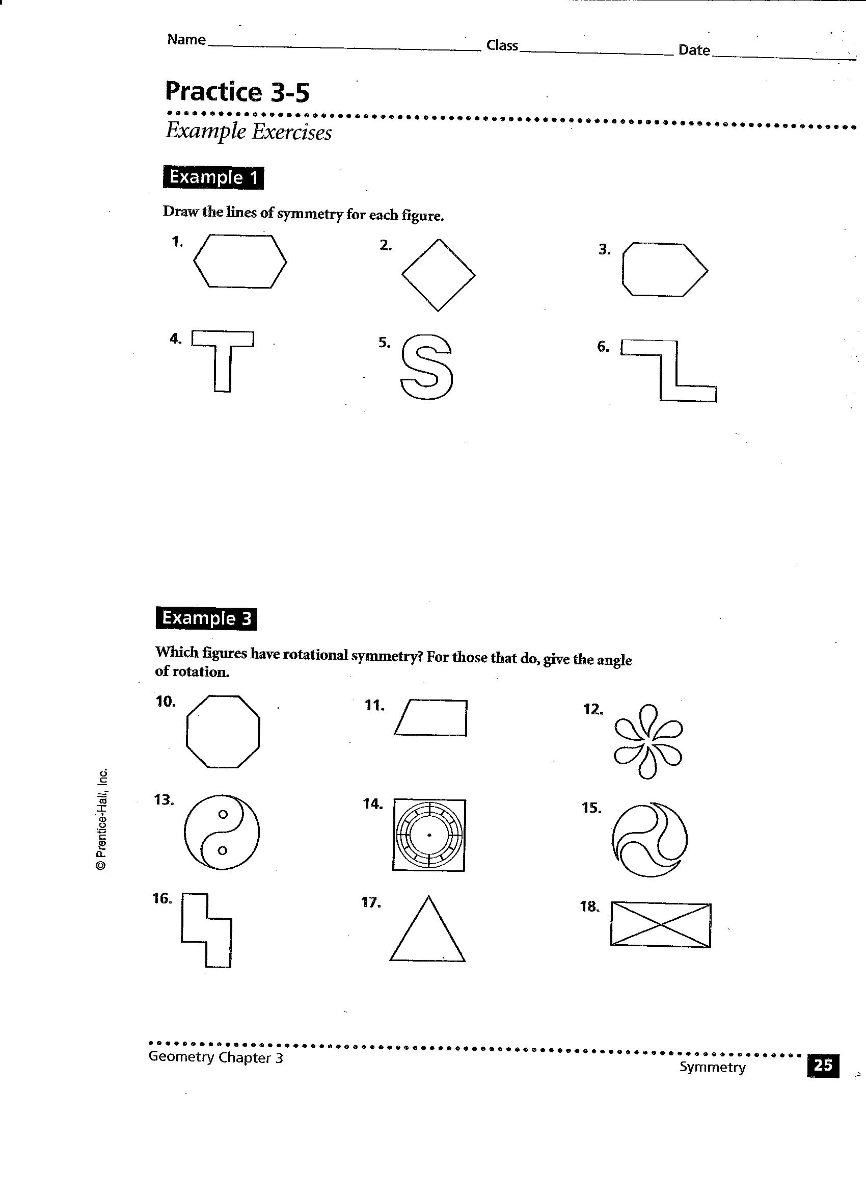 Tessellations Worksheet Printable