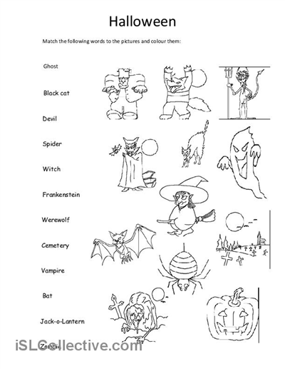 13 Best Images of Kindergarten School Worksheets
