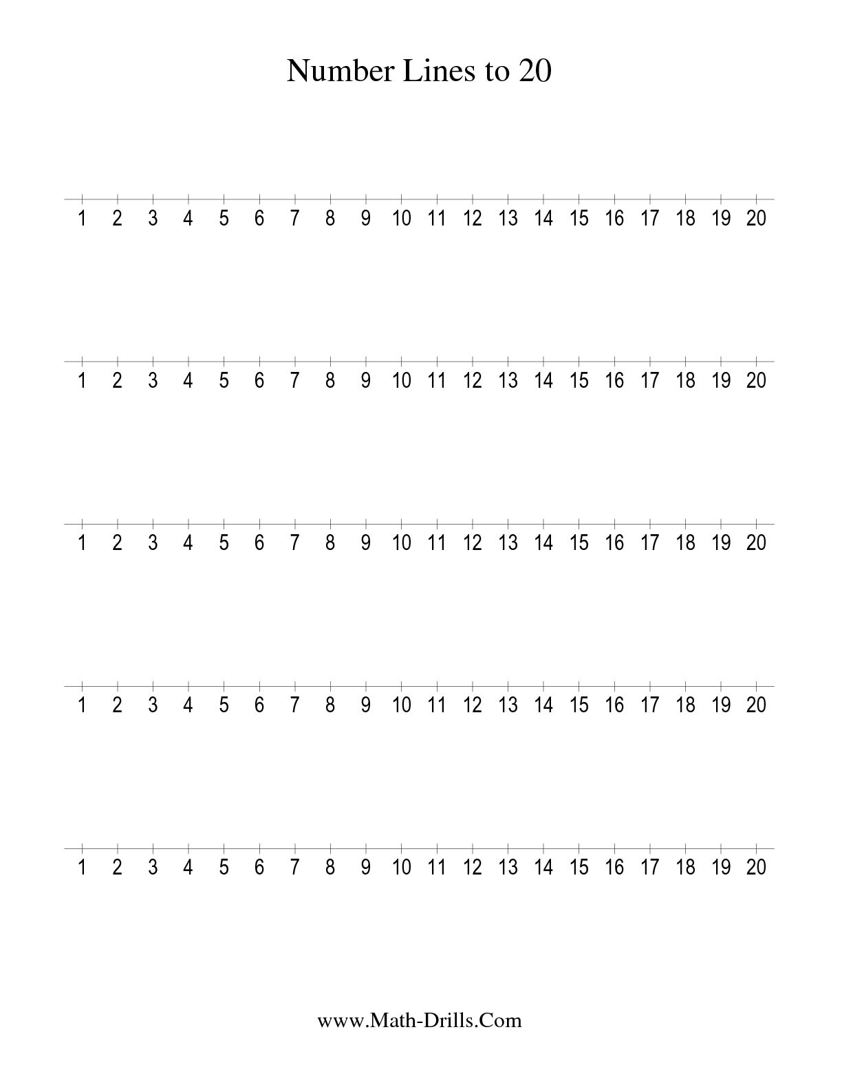 13 Best Images Of Algebra Number Line Worksheets