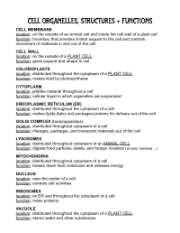 17 Best Images of Cell Organelle Worksheet.pdf - Cell ...