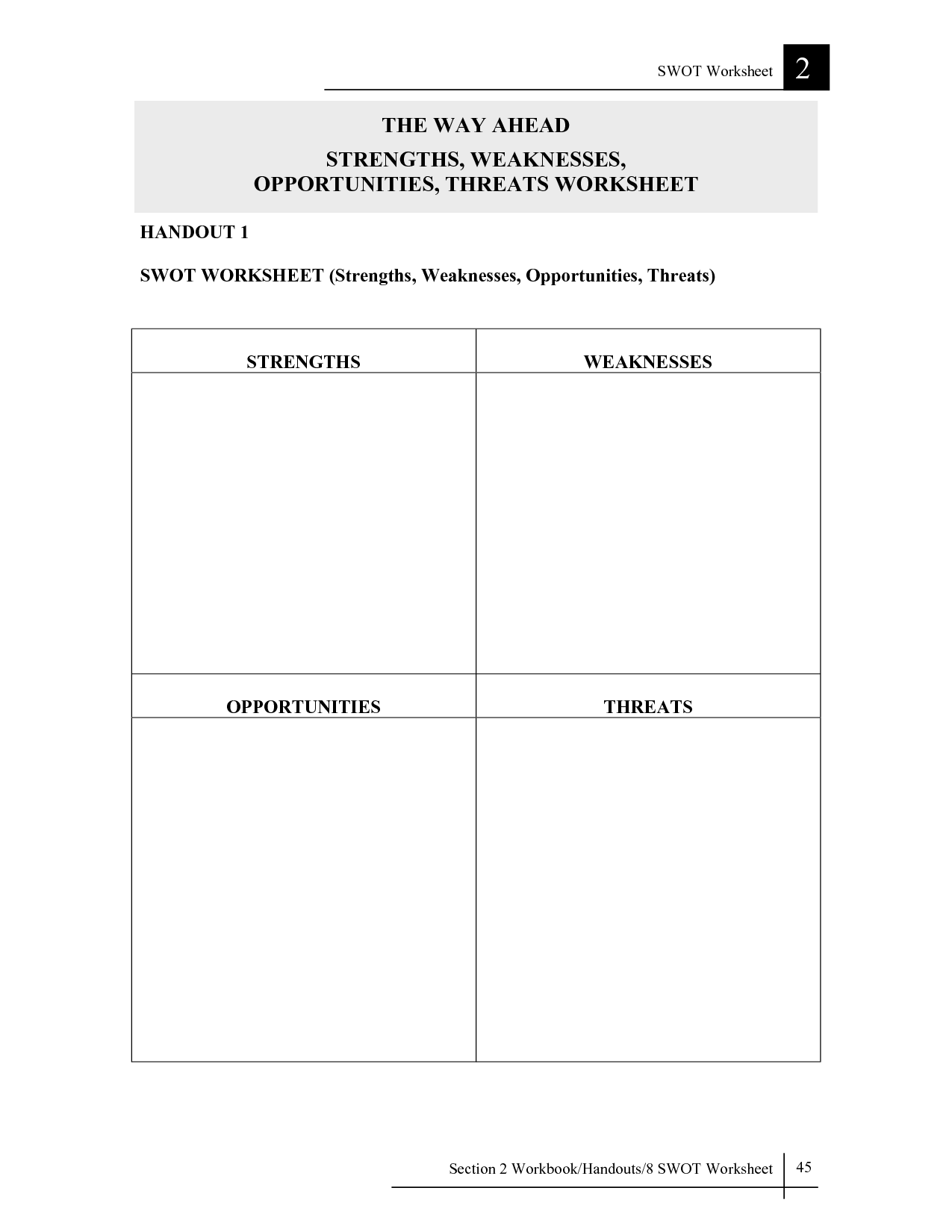 Resentment Worksheet Printable