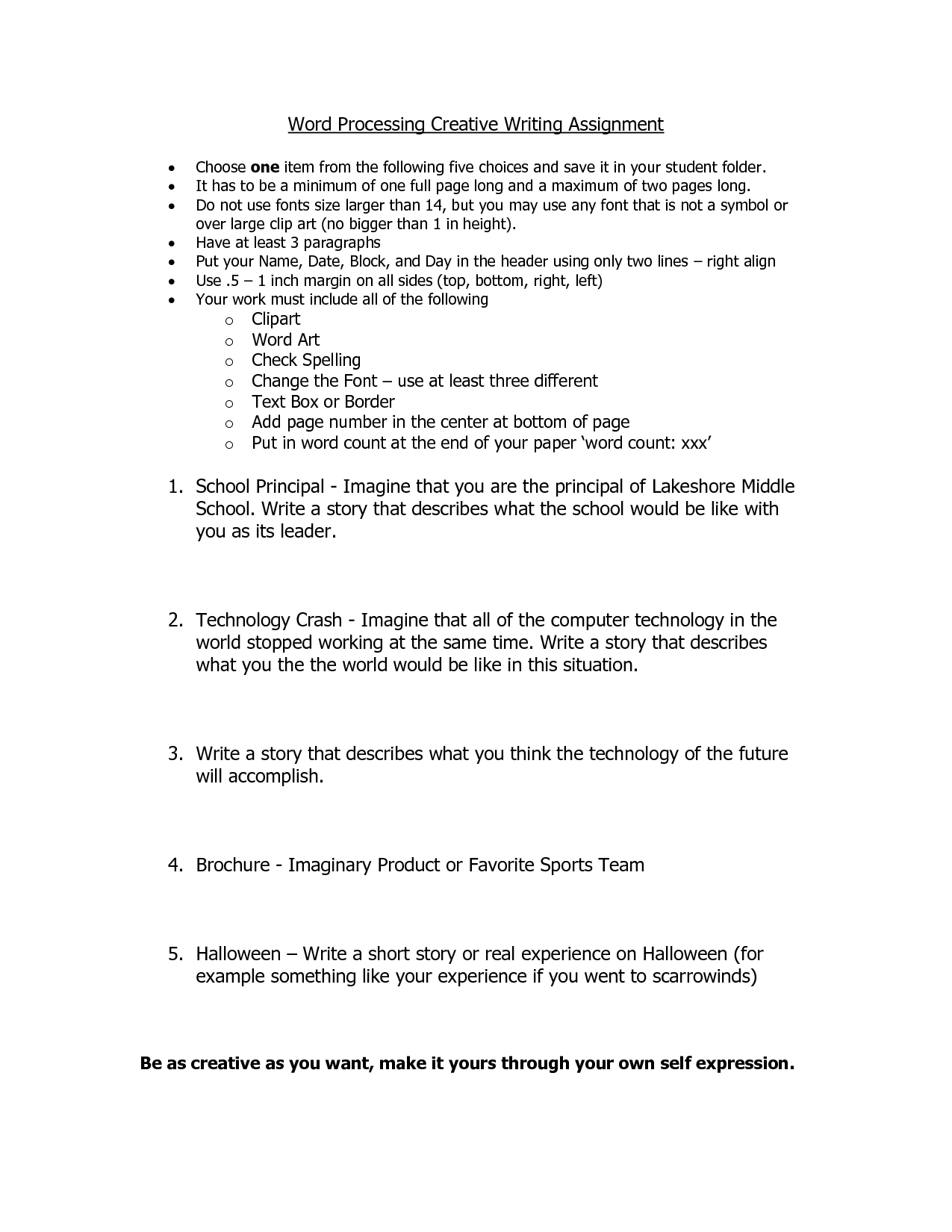 14 Best Images Of 7th Grade Writing Worksheets