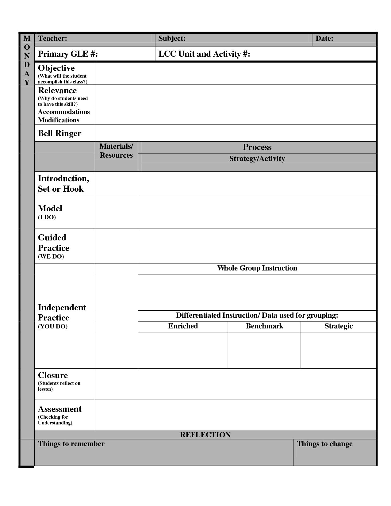 14 Best Images Of New Year Goal Setting Worksheet