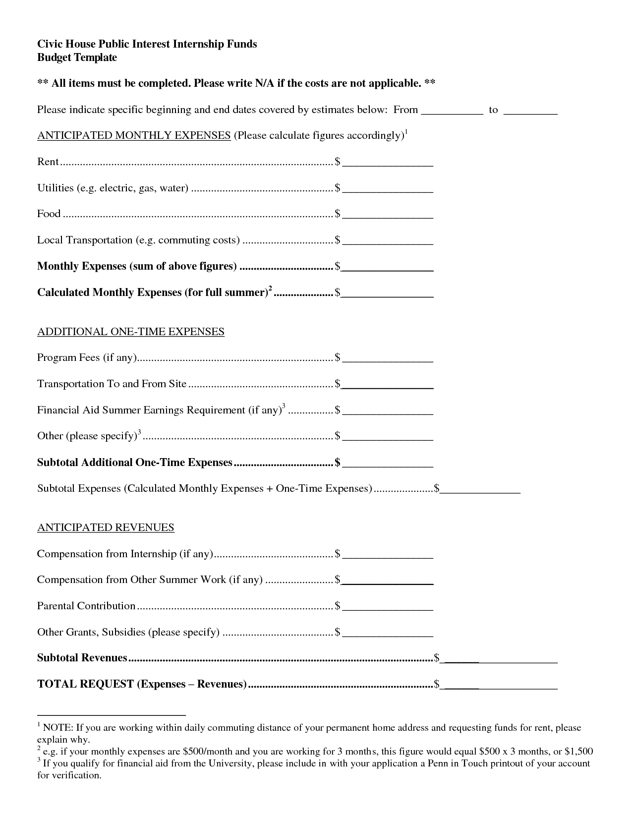 15 Best Images Of Monthly Business Expenses Worksheet