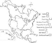 √ 14 Best Images of North American Biomes Map Worksheet