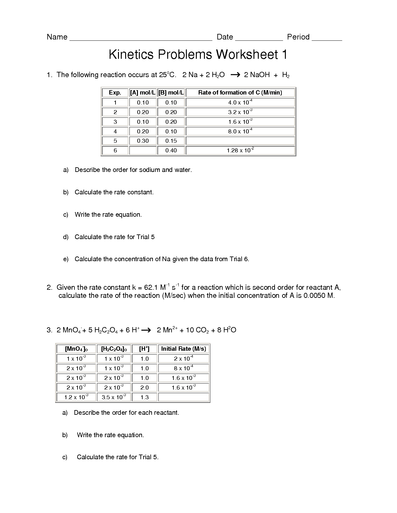 14 Best Images Of Enzymes Worksheet Answer Key