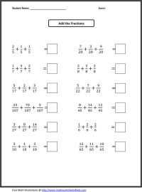 12 Best Images of Fractions Worksheets Grade 5 Math - 6th ...
