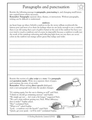 12 Best Images Of Editing Worksheets 3rd Grade