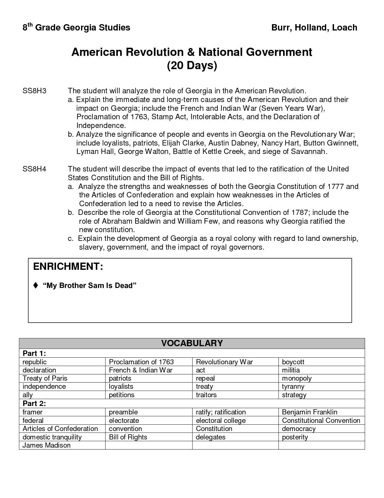 19 Best Images Of 8th Grade History Worksheets