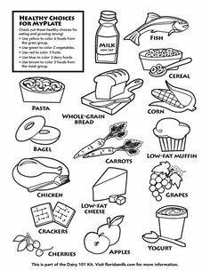 14 Best Images of Worksheets On Healthy Eating For 2 Grade