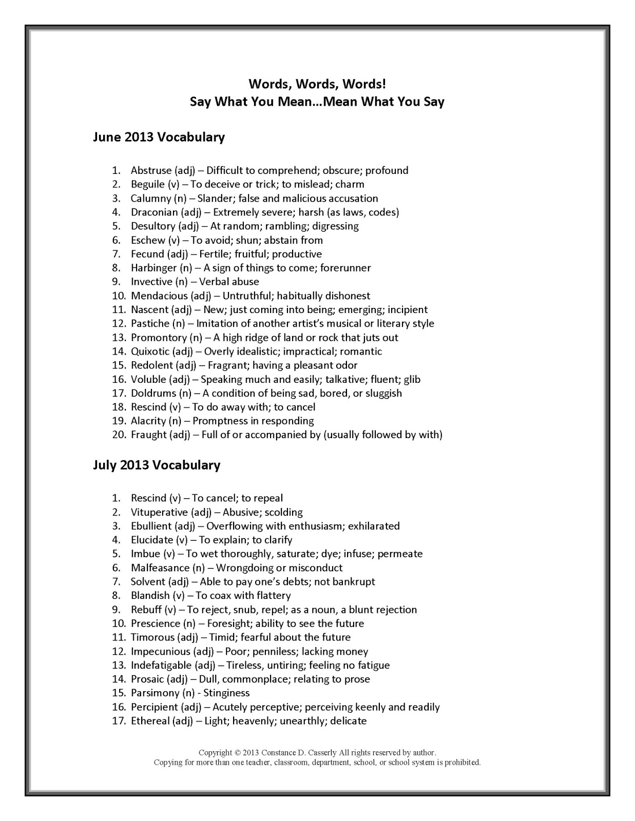 15 Best Images Of Vocabulary Building Worksheets High School