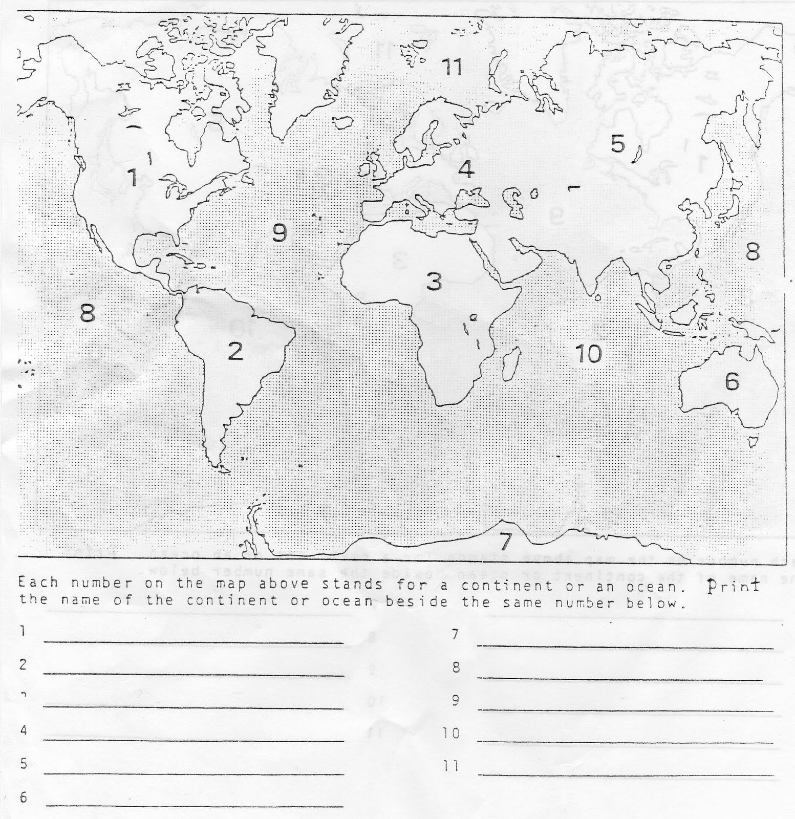 hight resolution of 8 Grade Geography Worksheet   Printable Worksheets and Activities for  Teachers