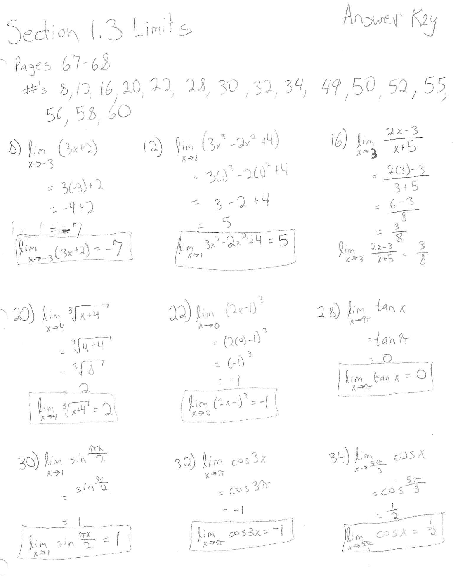9 Best Images Of Ab Calculus Derivative Worksheet