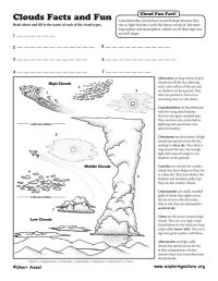 12 Best Images of Types Of Clouds Worksheets Printable ...