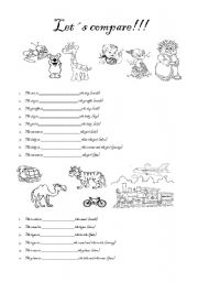 14 Best Images of Forms Of Adjectives Worksheets
