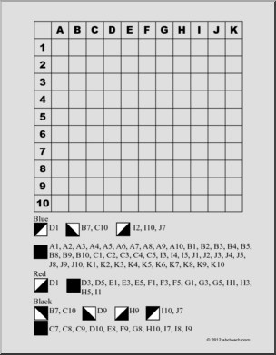 11 Best Images of Mystery Grid Picture Worksheets