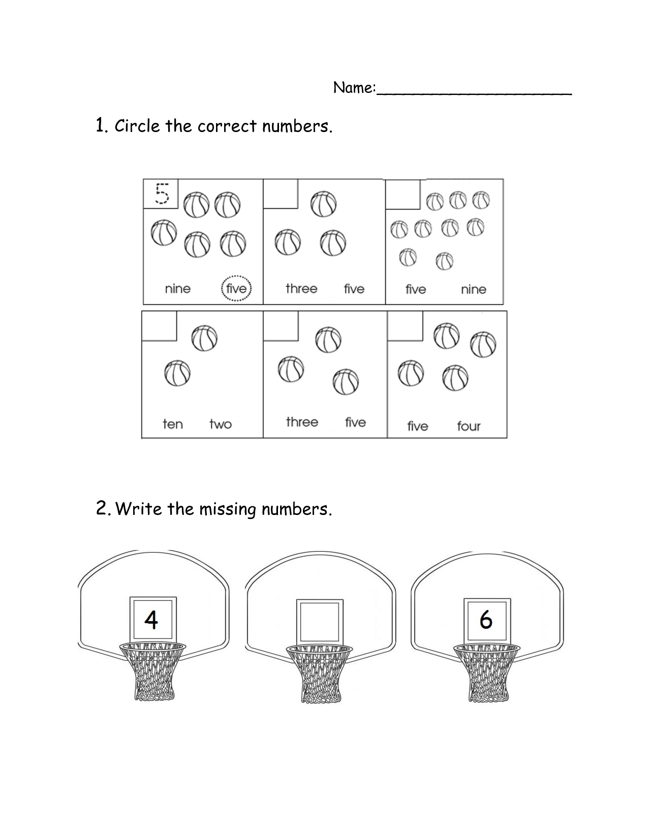 14 Best Images Of Worksheets Number Recognition 0 20