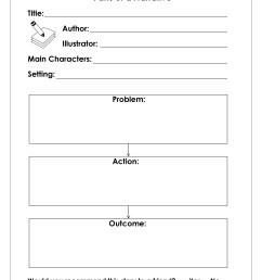 Theme Organizer Worksheet   Printable Worksheets and Activities for  Teachers [ 3300 x 2550 Pixel ]