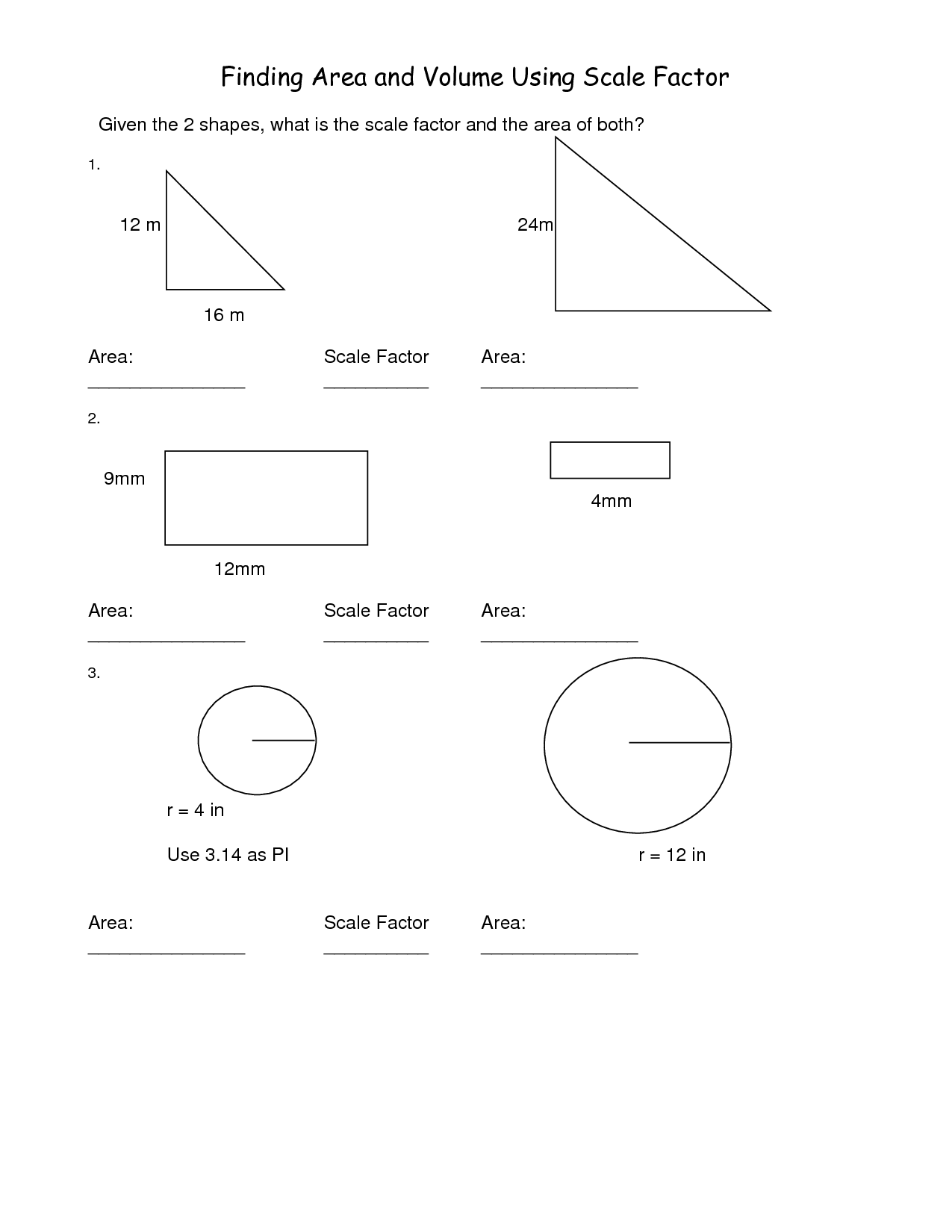 7 Best Images Of Map Scale Worksheets Middle School