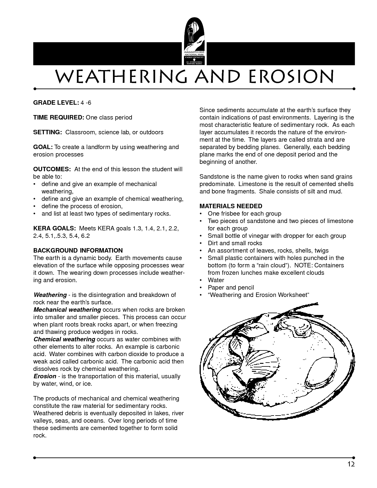 9 Best Images Of Weathering And Erosion Worksheets 4th