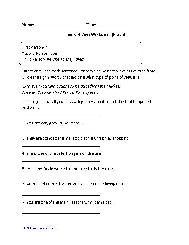 3rd Grade Reading Worksheets Authoru0027s Purpose