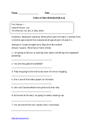3rd Grade Reading Worksheets Authoru0027s Purpose ...