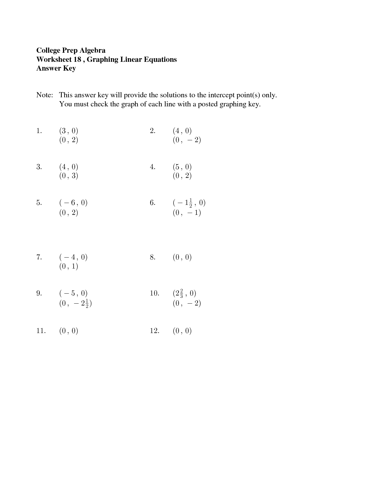 18 Best Images Of Beginning Pre Algebra Worksheets
