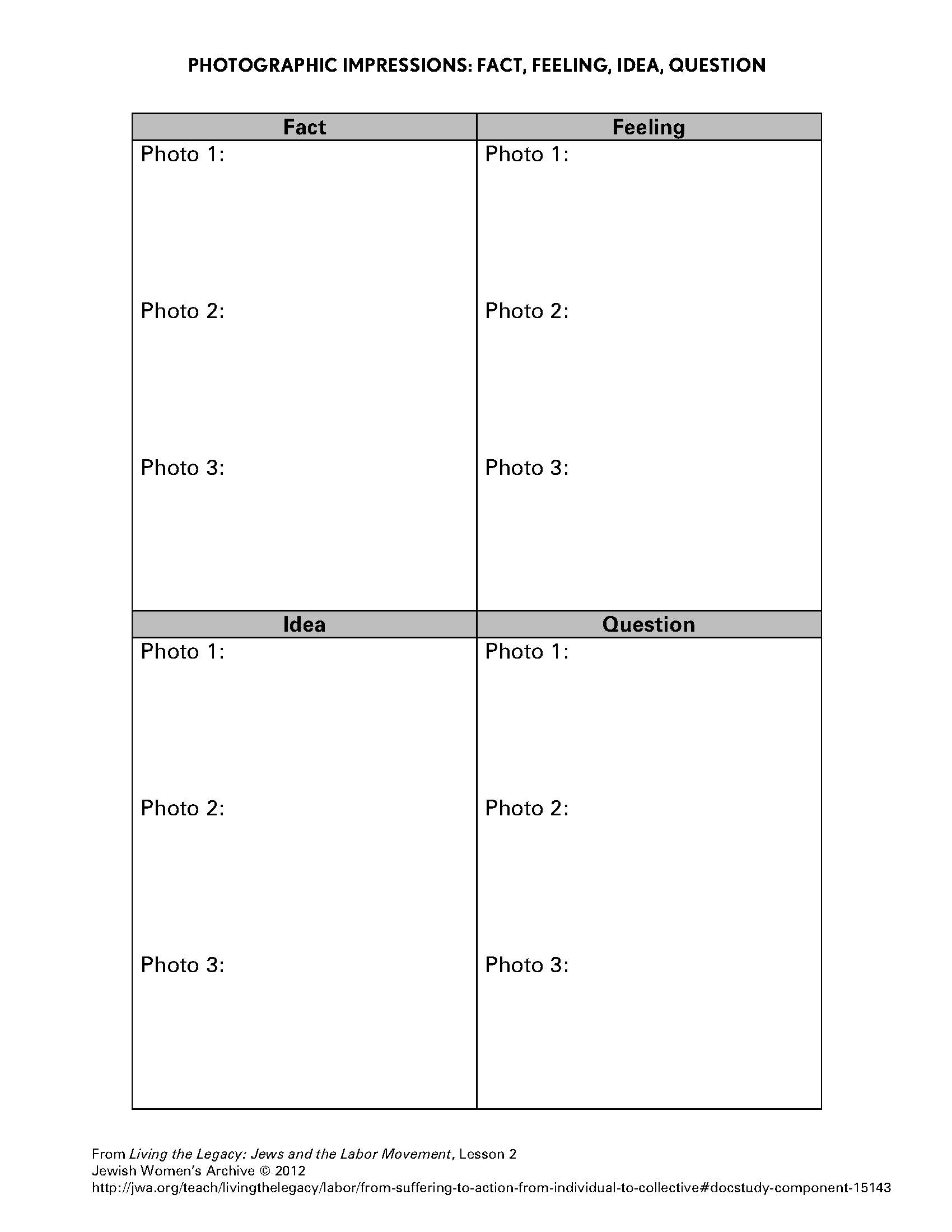 12 Best Images Of Free Printable Emotions Worksheets