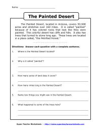 19 Best Images of 6 Grade Reading Worksheets - 6th Grade ...