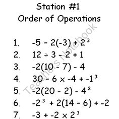 11 Best Images of Writing Algebraic Expressions Worksheets