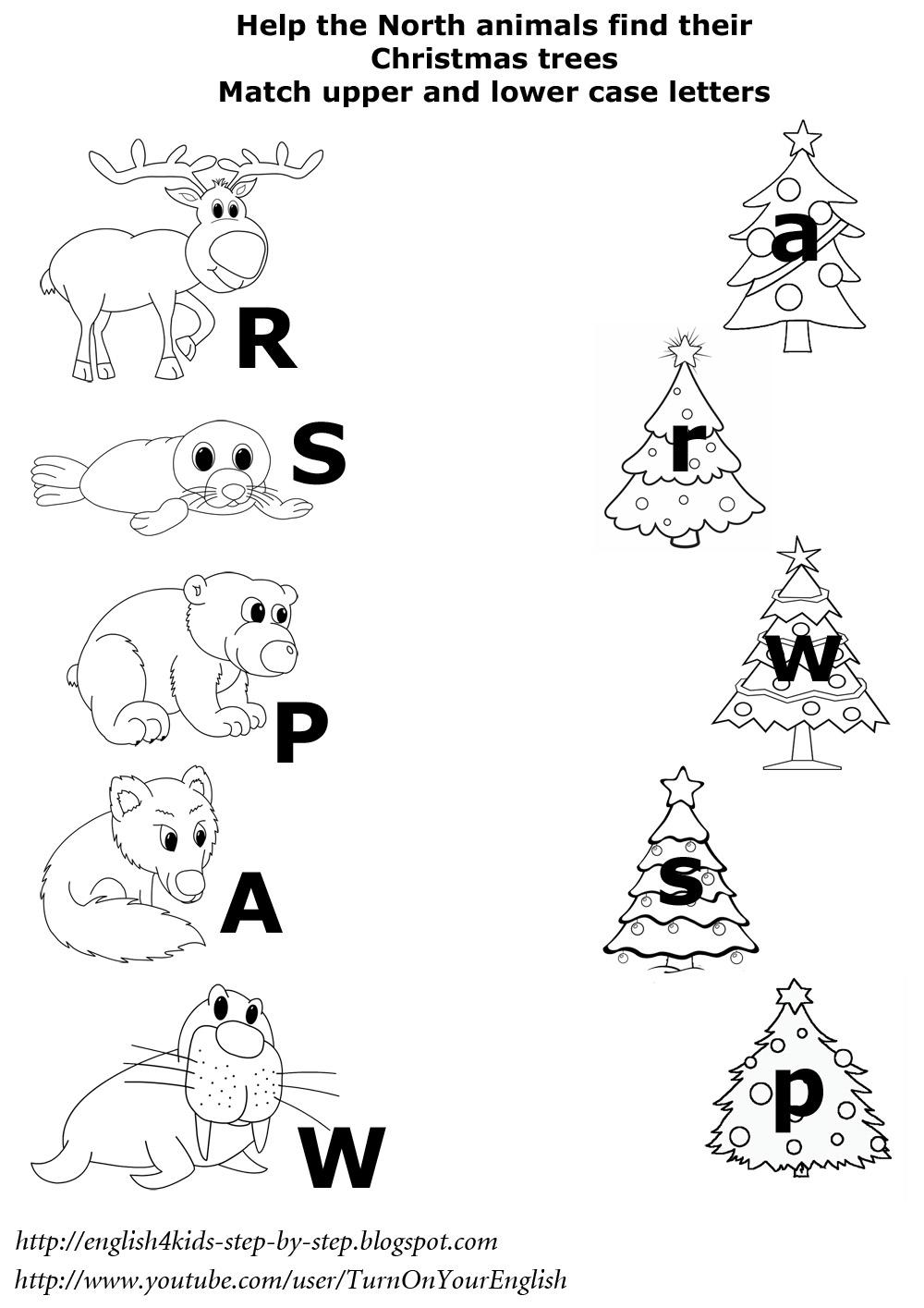 13 Best Images of Animal Matching Worksheet Kindergarten
