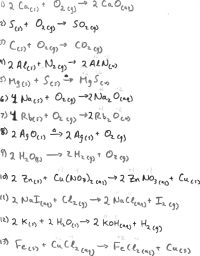 12 Best Images of Balancing Chemical Equations Worksheet ...