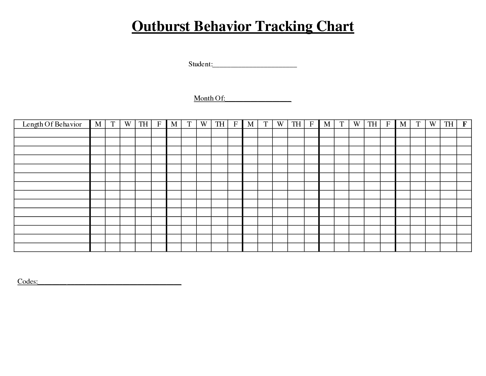 14 Best Images Of Tracking Behavior Worksheets