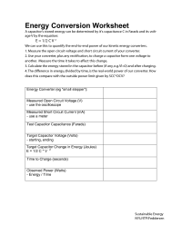 Energy Worksheet Category Page 5 - worksheeto.com