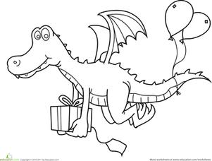 14 Best Images of Preschool Worksheet To Birthday Party