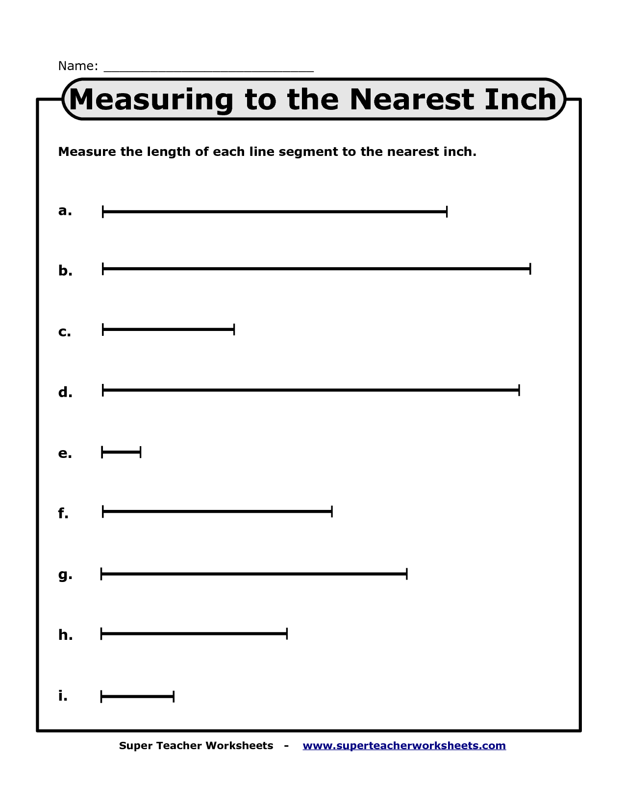 19 Best Images Of Length Measurement Worksheets 2nd Grade