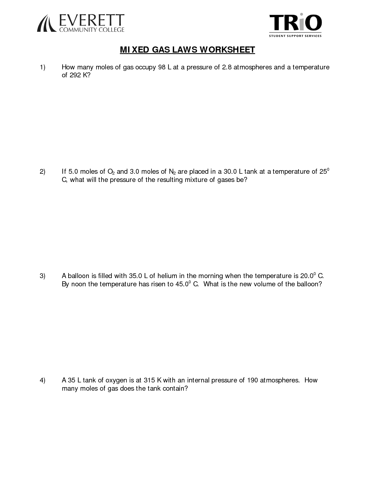 Mixed Numbers Worksheet Answer Key