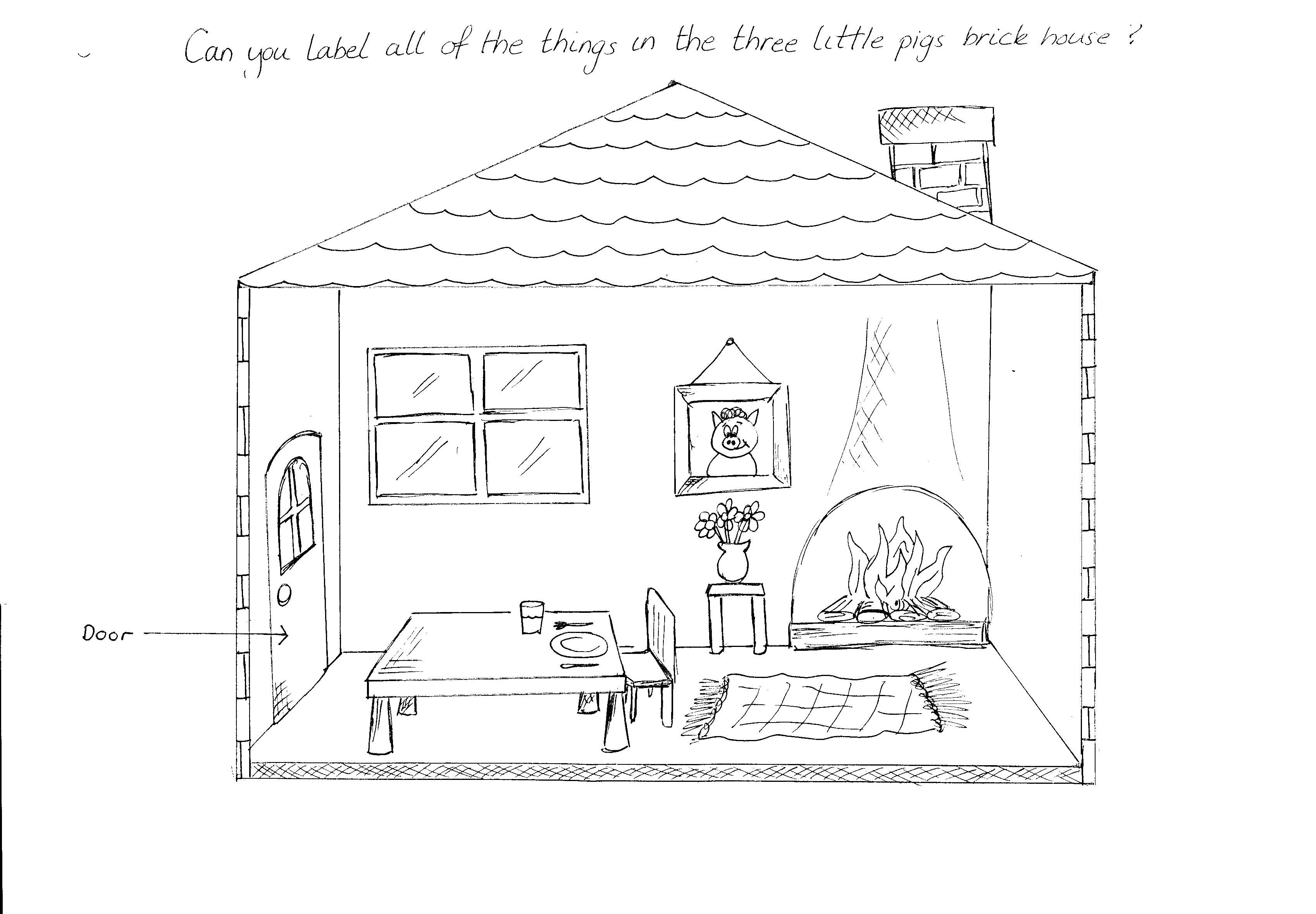 16 Best Images Of Houses For Preschool Worksheets